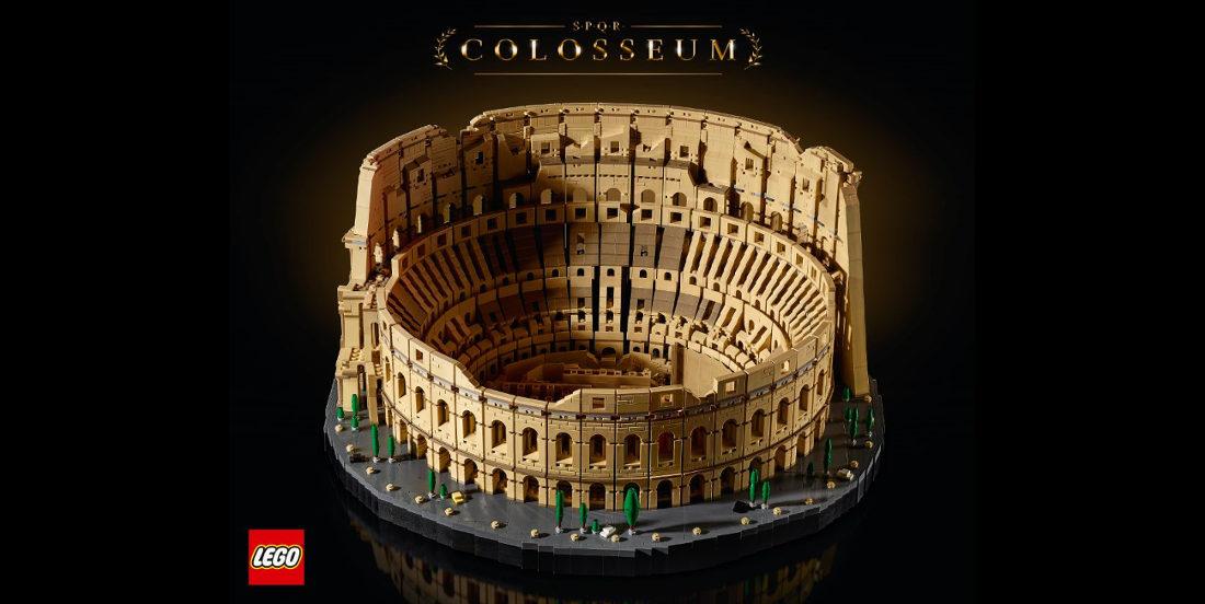 9,036-Piece Roman Colosseum Is LEGO's Largest Set Yet