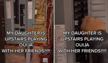 Classic: Mom Repeatedly Cuts Power While Daughter Is Playing Ouija Upstairs