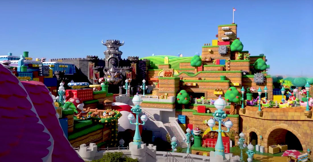 Mama Mia!: Super Mario World At Universal Japan Gets Flyover, Look At Mario Kart Ride