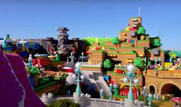 Mama Mia!: Super Mario World At Universal Japan Gets Flyover, Look At Mario Kart Ride