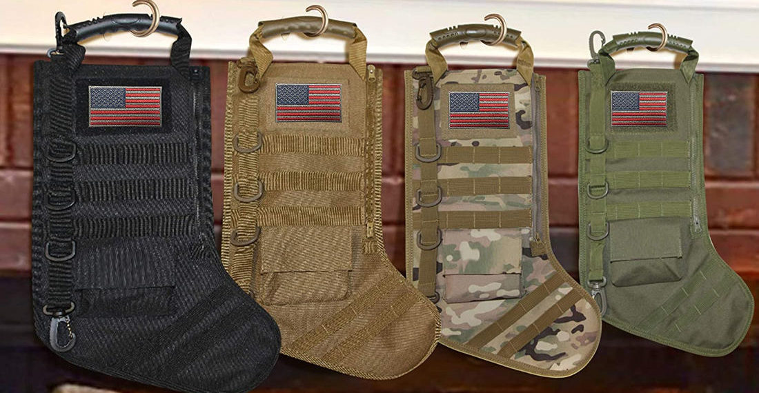 Real Products That Exist: Tactical Christmas Stockings