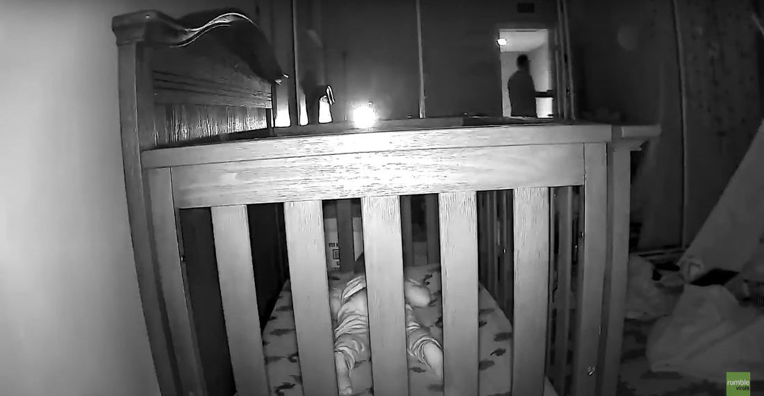 Kid Ditches Fake Sleeping Act The Second The Door Is Closed To Escape Crib