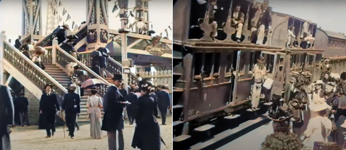 Oh Wow: AI Restored And Colorized Footage From Cities Around The World In The 1890's