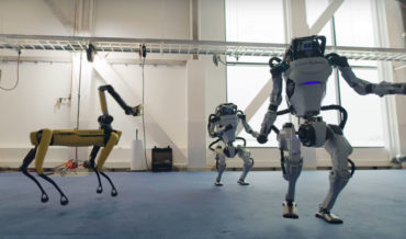 Boston Dynamics' Robots Unbelievable Dance Routine To 'Do You Love Me'