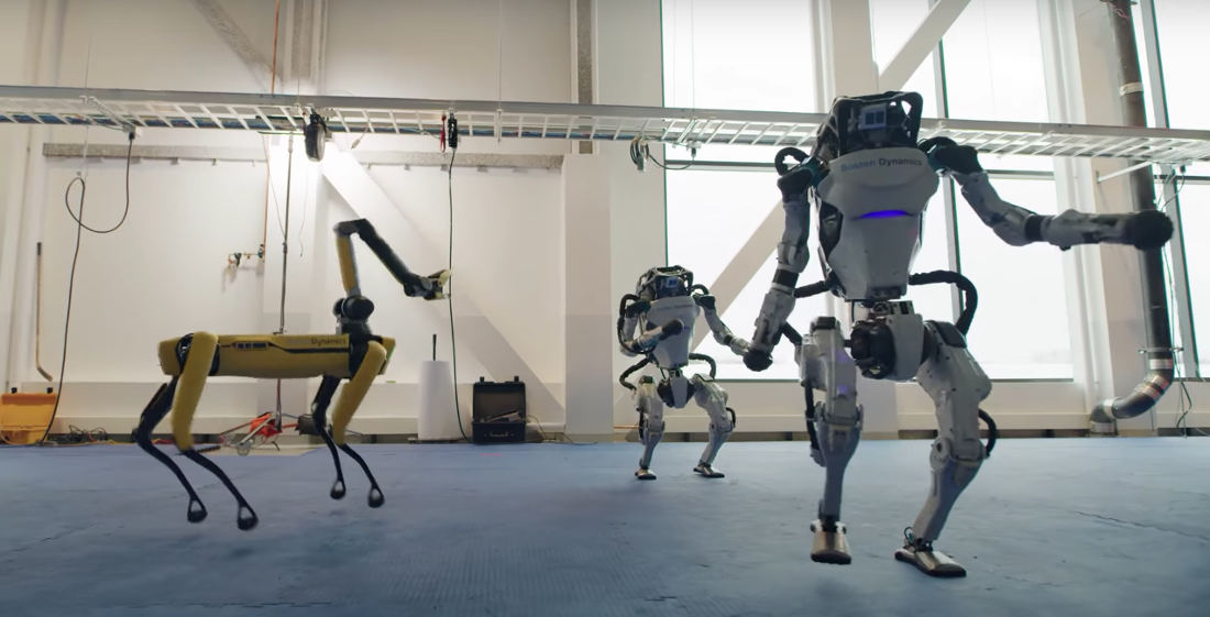 Boston Dynamics' Robots Unbelievable Dance Routine To 'Do You Love Me'