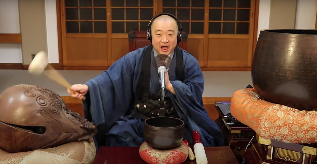 Buddhist Monk Covers Metallica's 'Enter Sandman' With Traditional Instruments