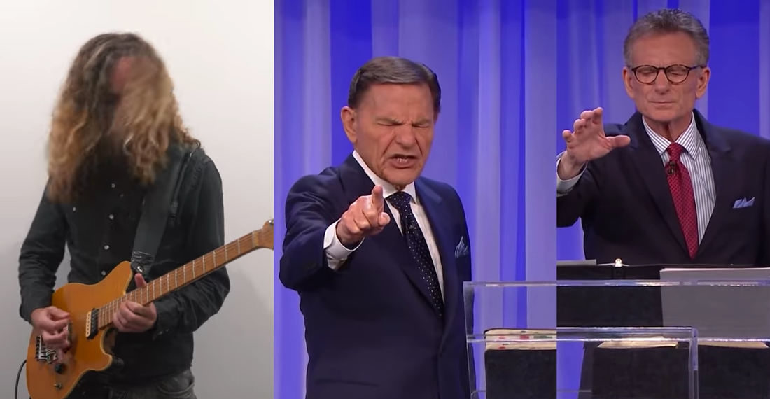 Guitarist Makes Heavy Metal Song Out Of Televangelist's Holy Banishment Of COVID-19
