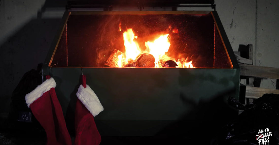 Move Over Yule Log, Here's An Hour-Long Video Of A 2020 Dumpster Fire
