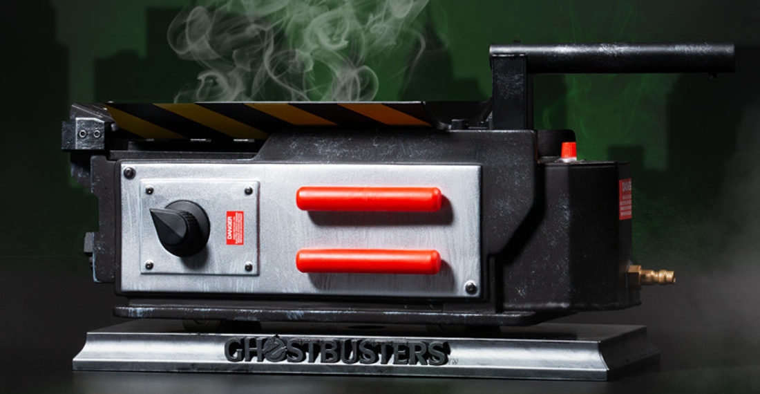Smoking Ghostbusters Trap Incense Burner