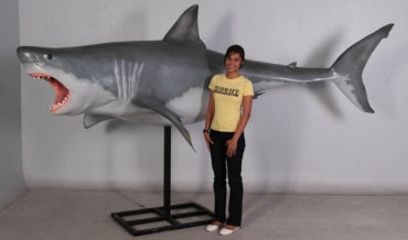 Finally, Some Decent 12-Foot Great White Shark Models