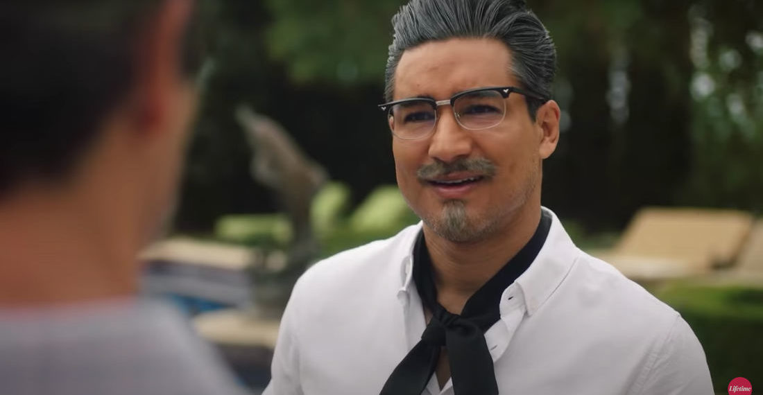 Lifetime Made A Sexy KFC Colonel Sanders Holiday Movie Starring Mario Lopez