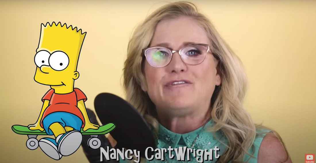 Nancy Cartwright Performs All The Voices She Plays On The Simpsons In 40 Seconds