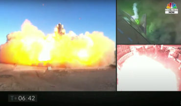 SpaceX Starship Explodes During Landing After Test Flight