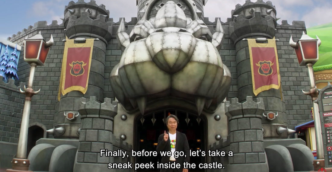 Shigeru Miyamoto Gives Tour Of Super Mario World At Universal Studios Japan