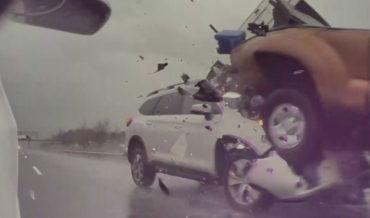 Tesla's Cams Capture Gnarly Rear-Ending