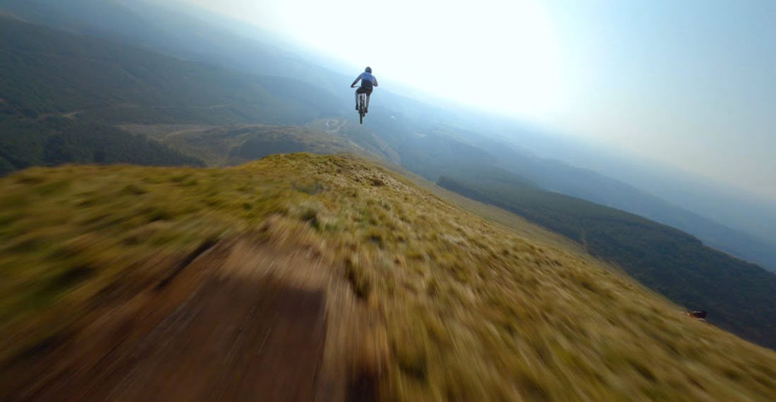 Beautifully Shot Video Of Cyclist Riding The Very Intense Ridgeline Trail