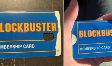 Finally, The Blockbuster Membership Credit Card Skin We've All Been Waiting For