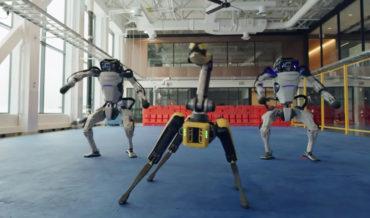 Boston Dynamics' Robot Dance Video Remixed Into Binary Robot Apocalypse Song