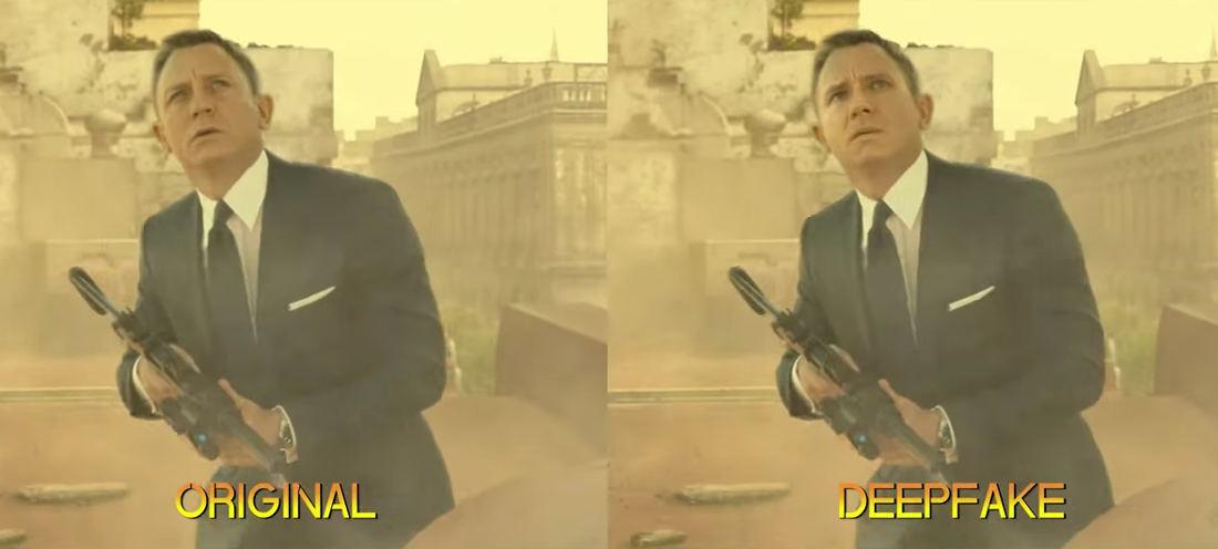 Harrison Ford Deepfaked As Daniel Craig's James Bond
