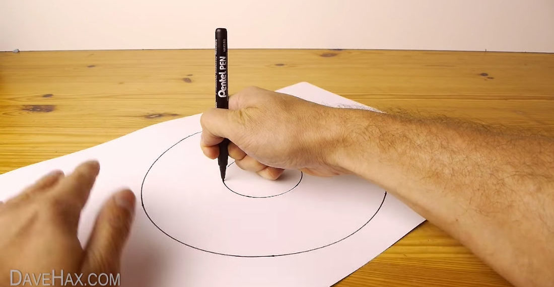 How To: Draw A Perfect Freehand Circle