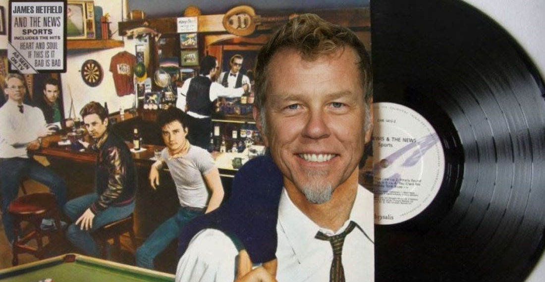 A Huey Lewis And The News 'Hip To Be Square'/Metallica 'Enter Sandman' Mashup