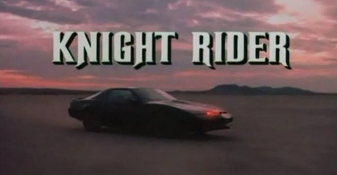 The Knight Rider Opening Intro In German And Japanese