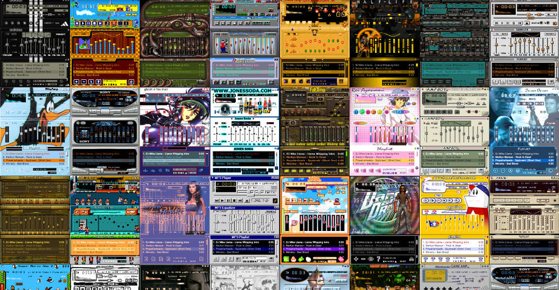A Trip Down Memory Lane: The Winamp Skin Museum