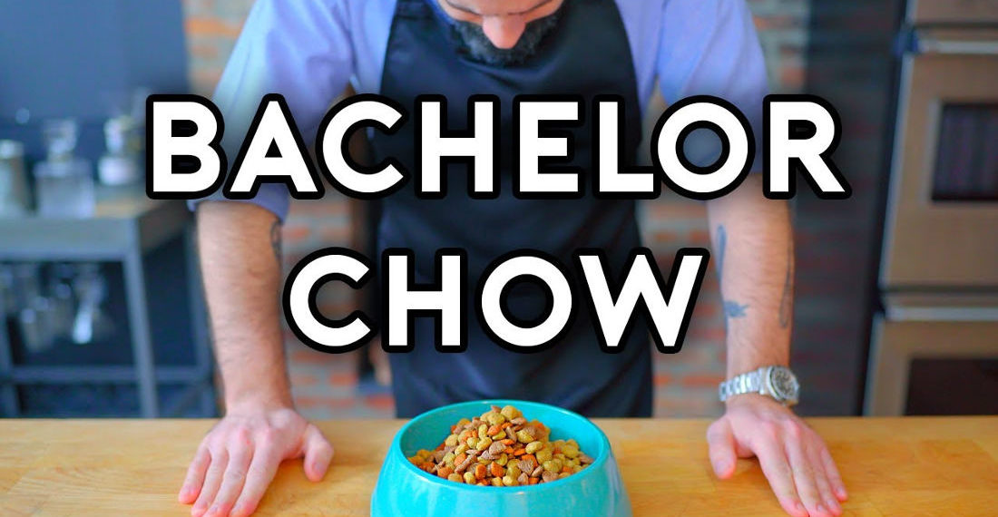 Chef Recreates Fry's 'Bachelor Chow' From Futurama