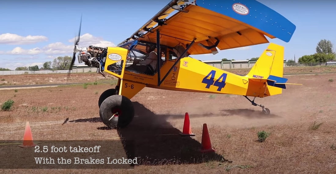 Pilot Takes Off In 2.5-Feet, Lands In 16.5-Feet For Short Take Off And Landing Competition