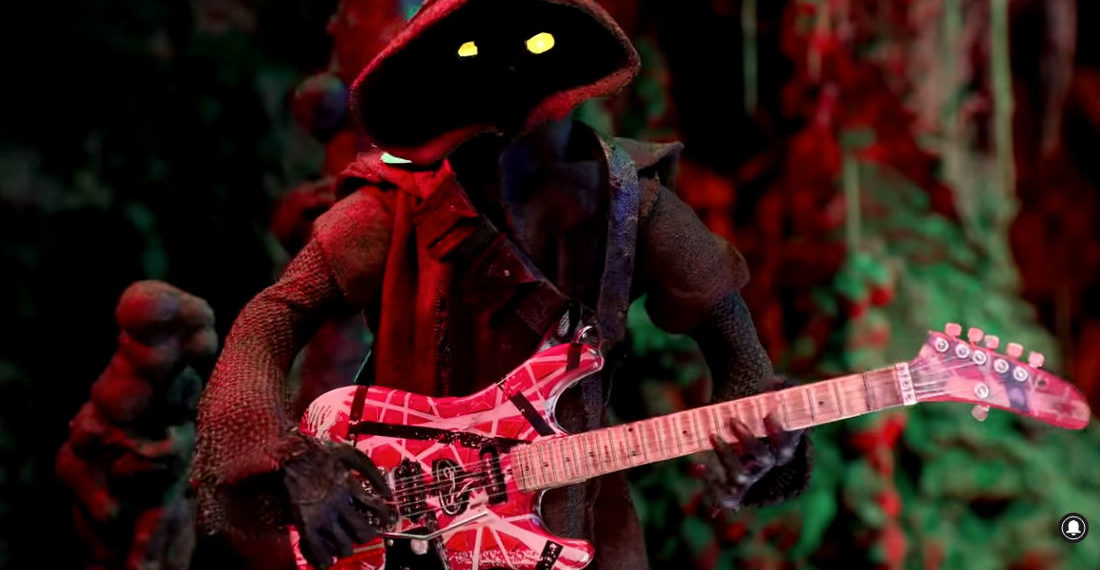 Stop Motion Jawa Performs Van Halen's 'Eruption' In Tribute To Late Rock Star