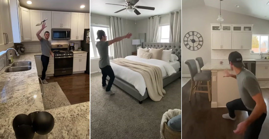Guy Uses The Force To Accomplish Everyday Tasks Around The House