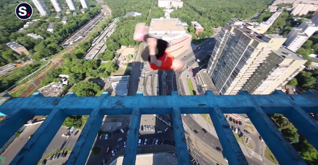'Taking A Risk: Stunning Stunts', A Compilation Of Risky Activities