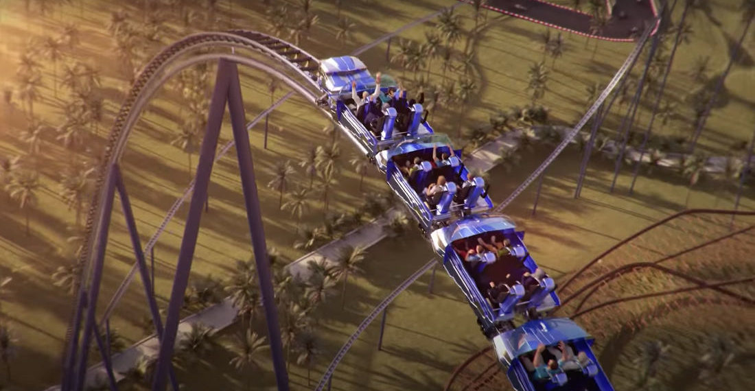 New Tallest, Longest, Fastest Roller Coaster Will Span 2.5-Miles, Hit 155MPH