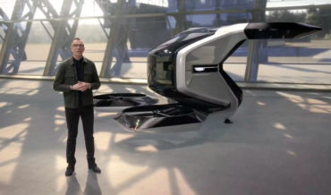 GM's Vision Of A Cadillac Branded Single-Person Electric Air Vehicle