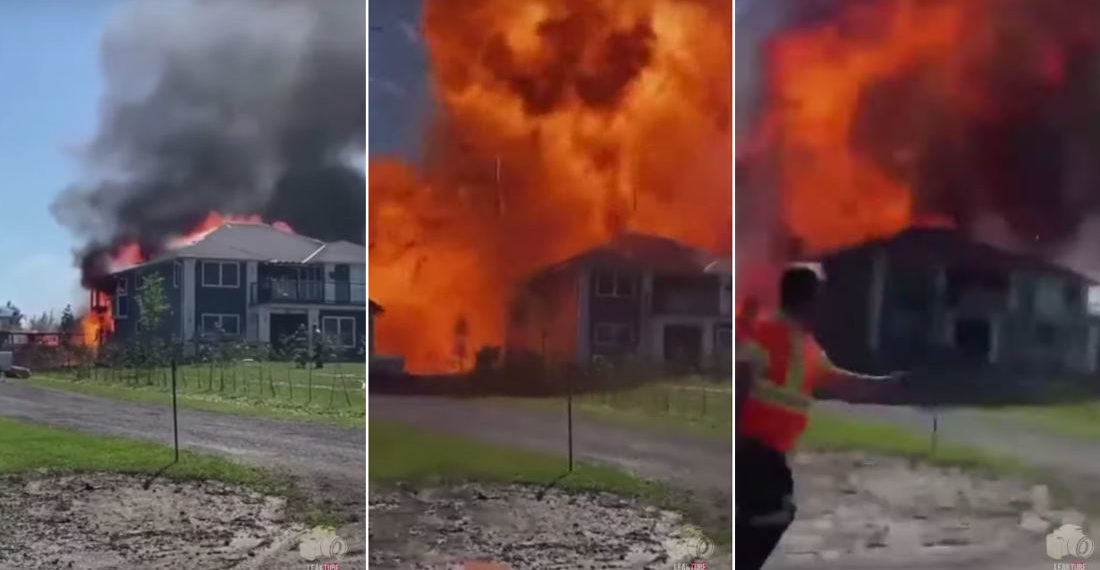 Yikes: When A House Fire Reaches The Propane Tank