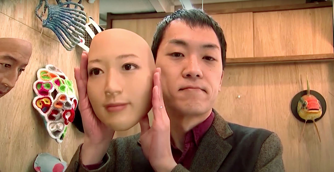Japanese Artist Selling Hyperrealistic Full-Face Masks Of Other People's Faces