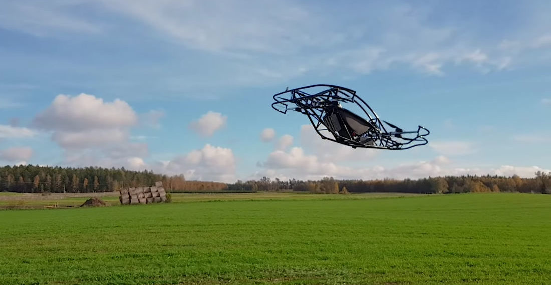 The Jetson ONE Single Person Drone Takes A Test Flight
