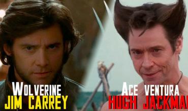 Deepfake Of Hugh Jackman As Ace Ventura And Jim Carrey As Wolverine