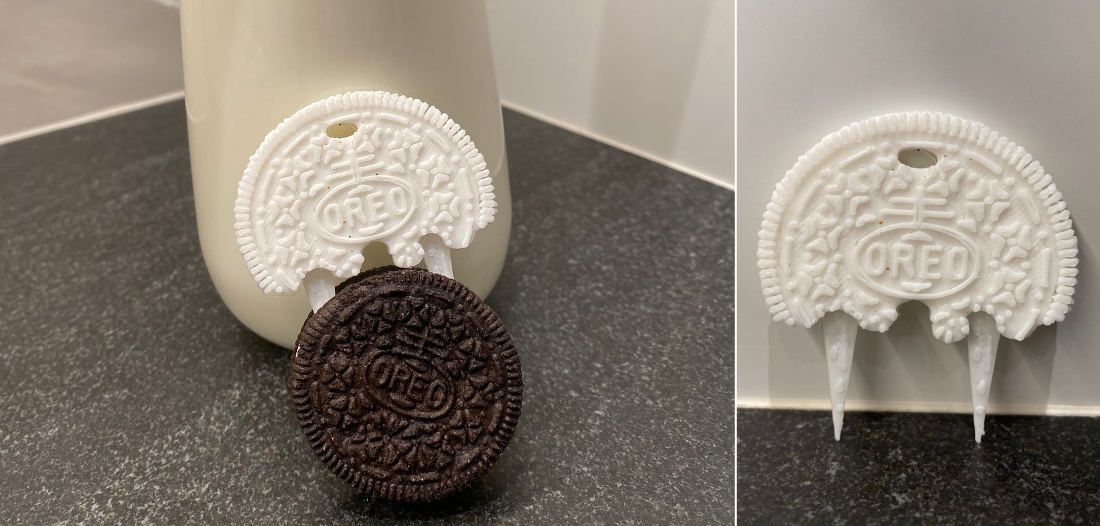 Whatever Works: 3-D Printed OREO Dunking Skewers