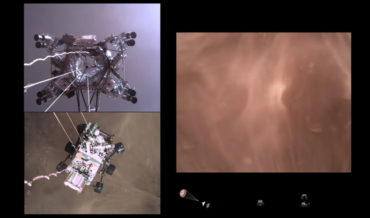 NASA Releases Footage Of Perseverance Rover's Touchdown On Mars