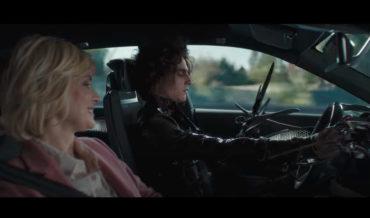 Edward Scissorhands' Son's Hands-Free Cadillac Super Bowl Commercial