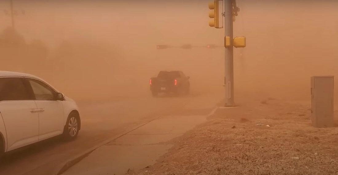 Good Heavens: Video Of Massive Dust Storm In Lubbock, Texas