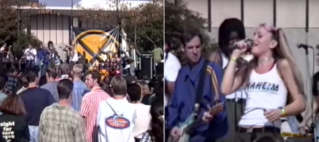 Concert Footage From A 1994 No Doubt Concert: Like Stepping Into A Time Machine
