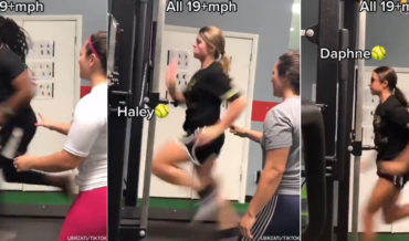 A Compilation Of Athletes Running 19+MPH On A Treadmill