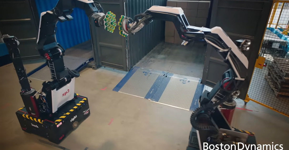 Boston Dynamics' Terrifying New Warehouse Worker Robot