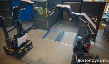Boston Dynamics' Terrifying New Warehouse Worker Robot