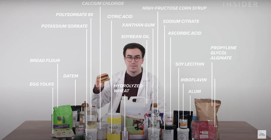 Food Chemist Recreates Big Mac From Scratch Using All 54 Ingredients McDonald's Does