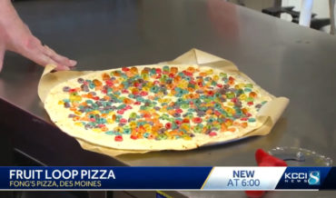 Iowa Pizzeria Introduces Froot Loops Breakfast Pizza