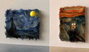 Okaaaay: Famous Artworks Reimagined In Fur