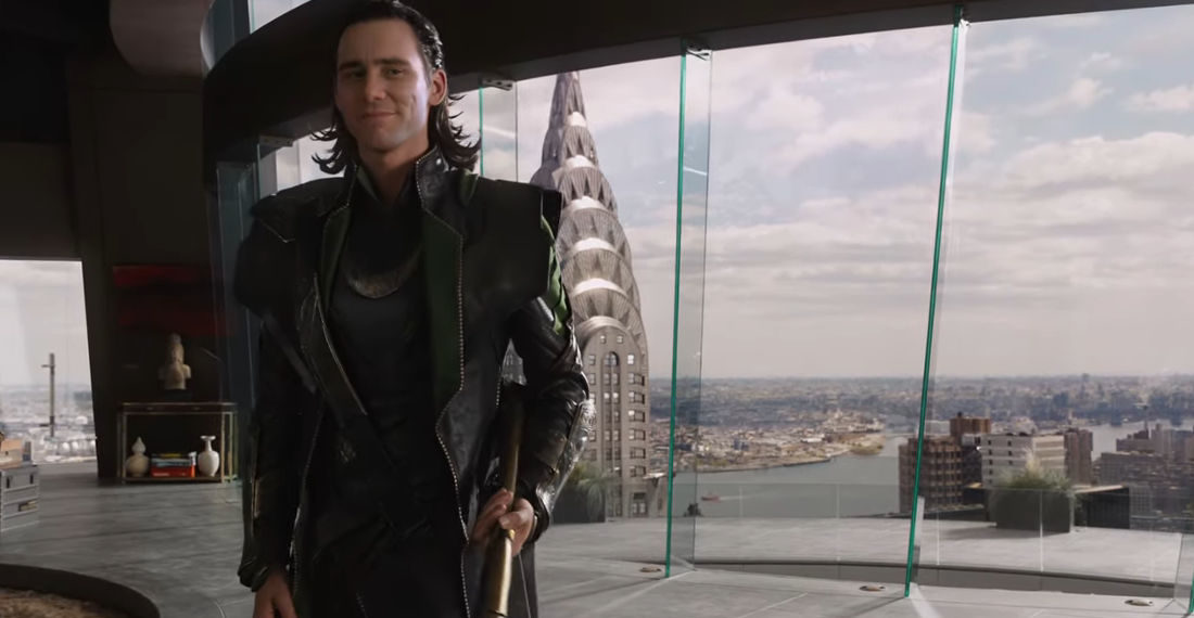 The Avengers With Deepfaked Jim Carrey As Loki